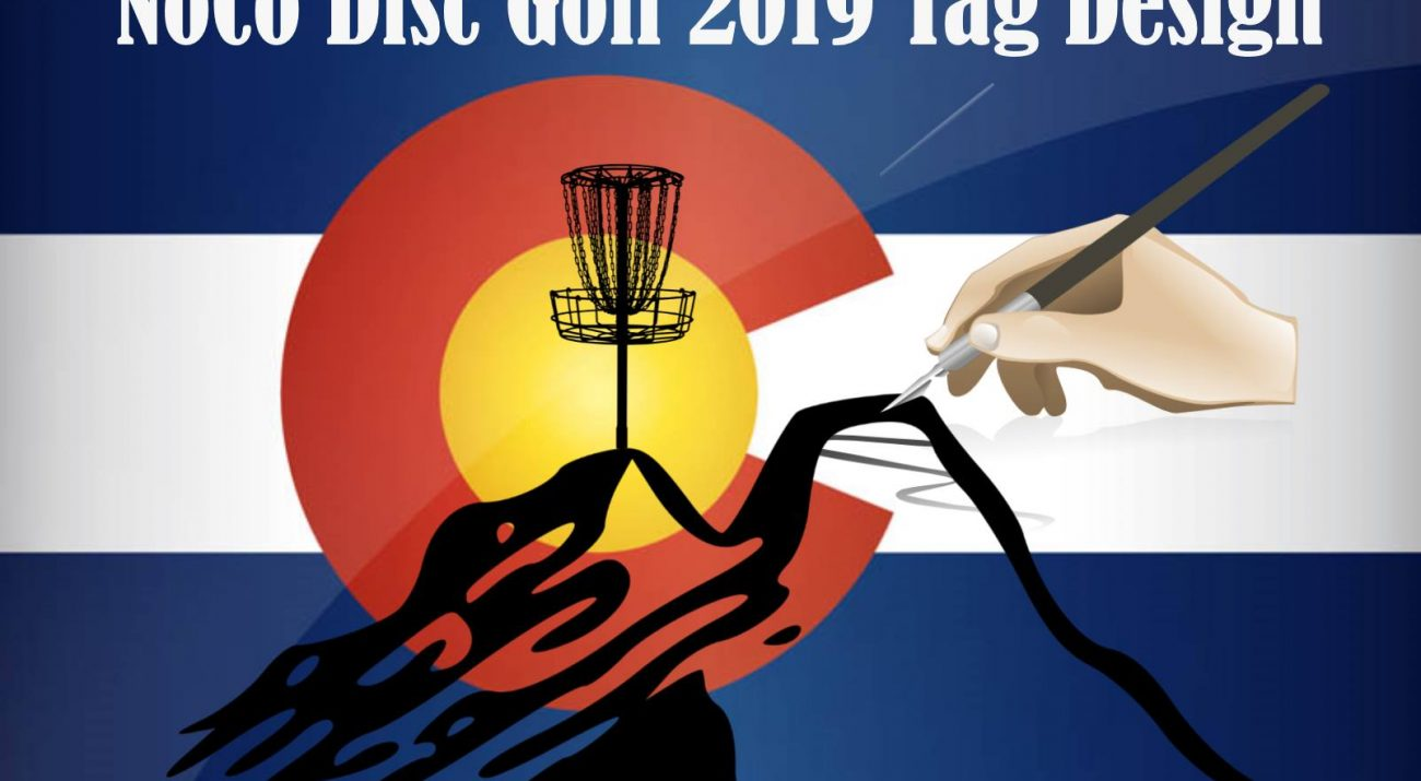 2019 Northern Colorado Disc Golf Tag Design Contest